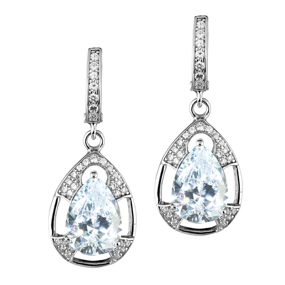 Mandalay Pear Earrings
