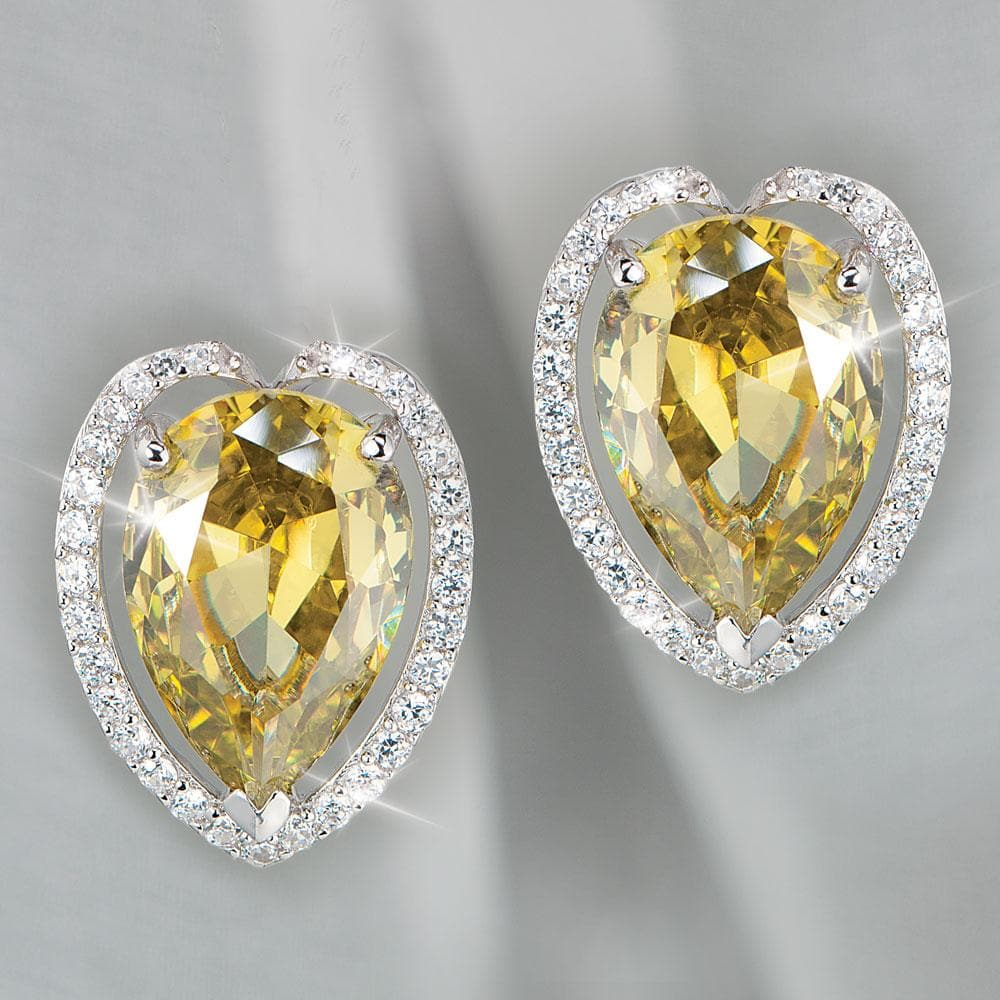 Olivia Pear Earrings