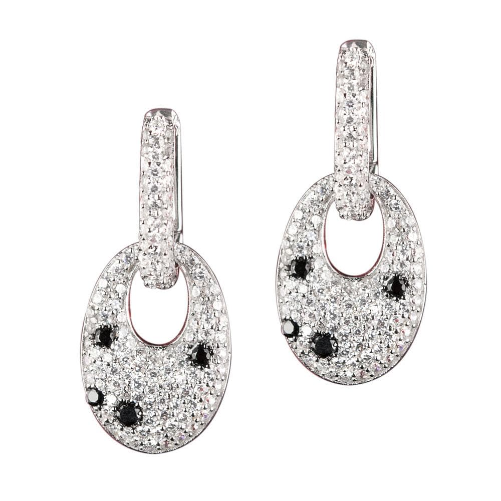 Pavé Polka Dot Earrings