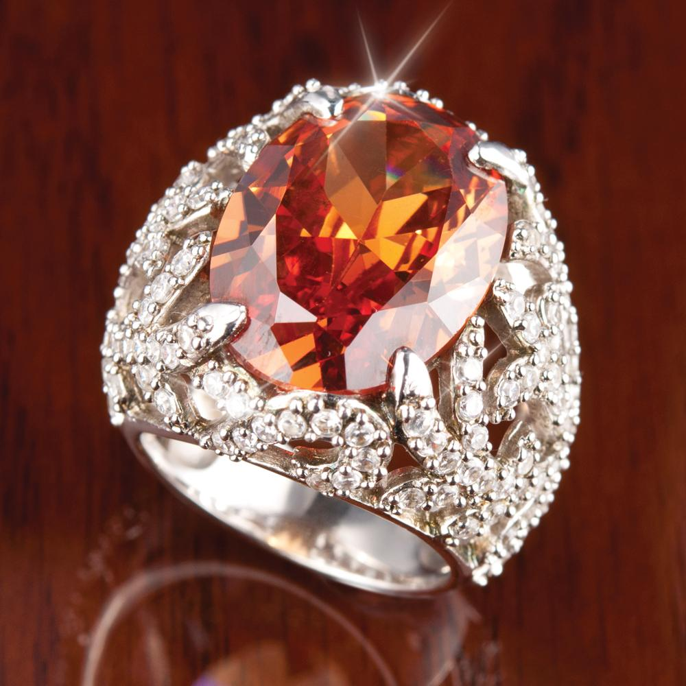 Fire Cocktail Ring