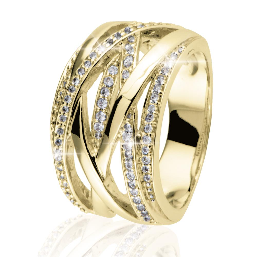 Interlace Ring Gold
