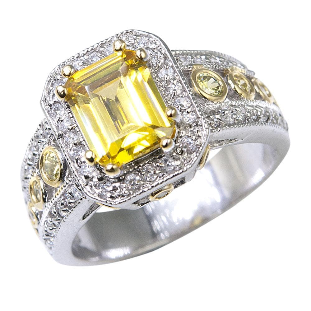Imperial Saffron Ring