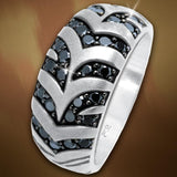 Jungle Fever Zebra Ring