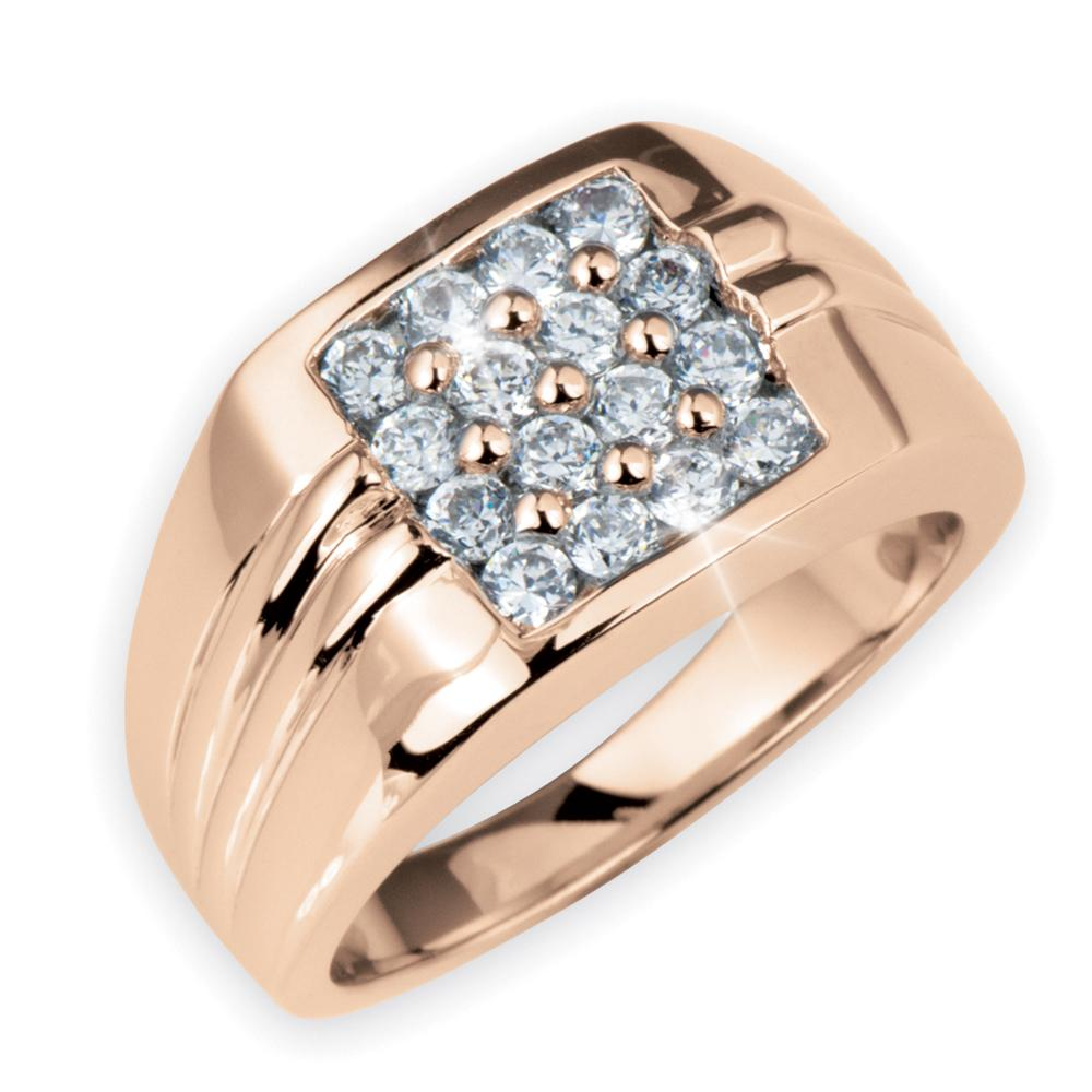 Mirage Men's Ring Rose Gold