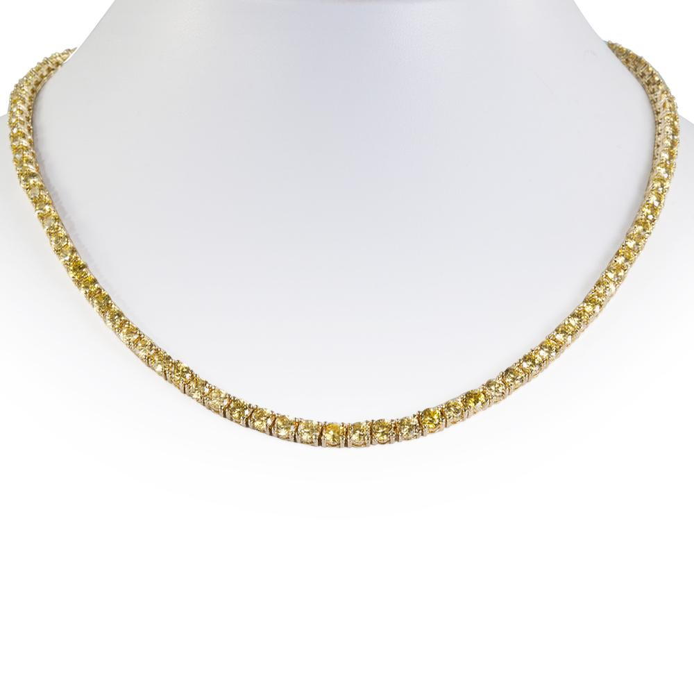 Canary Millionaire Necklace