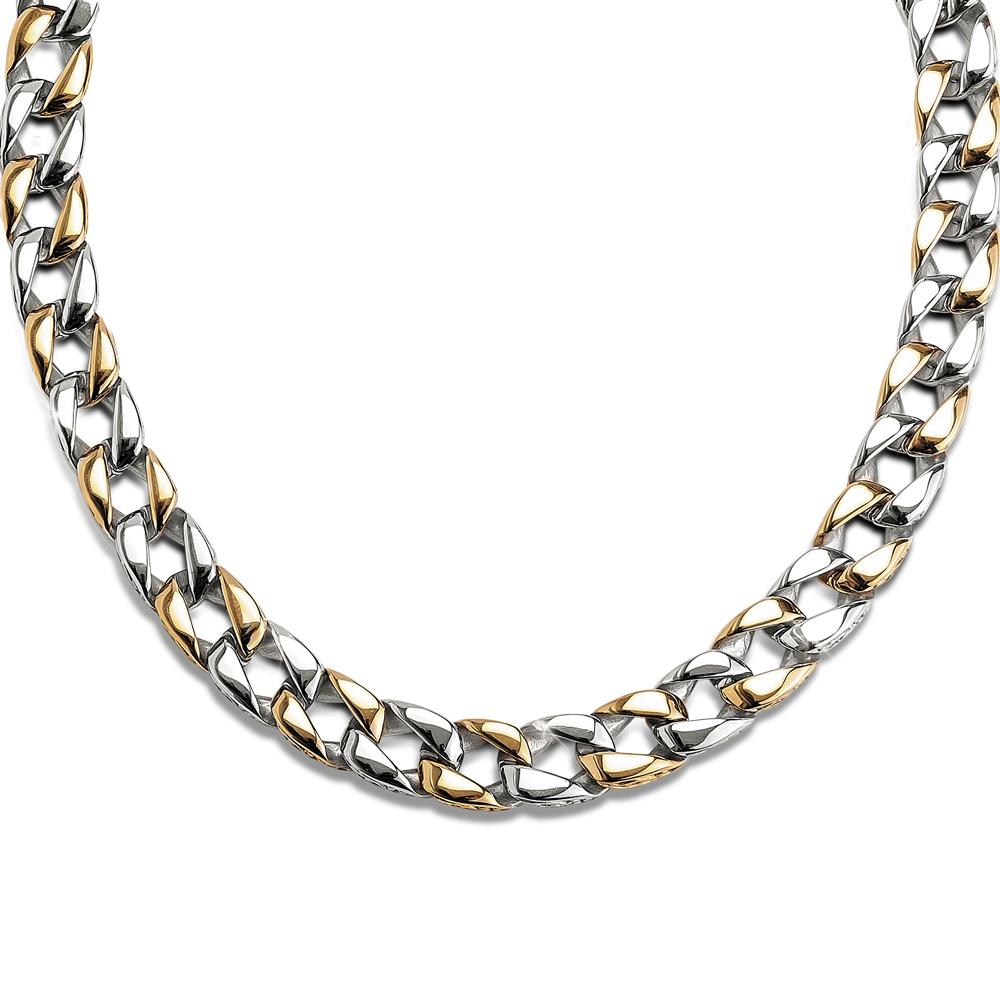 Curb Vine Men's Necklace