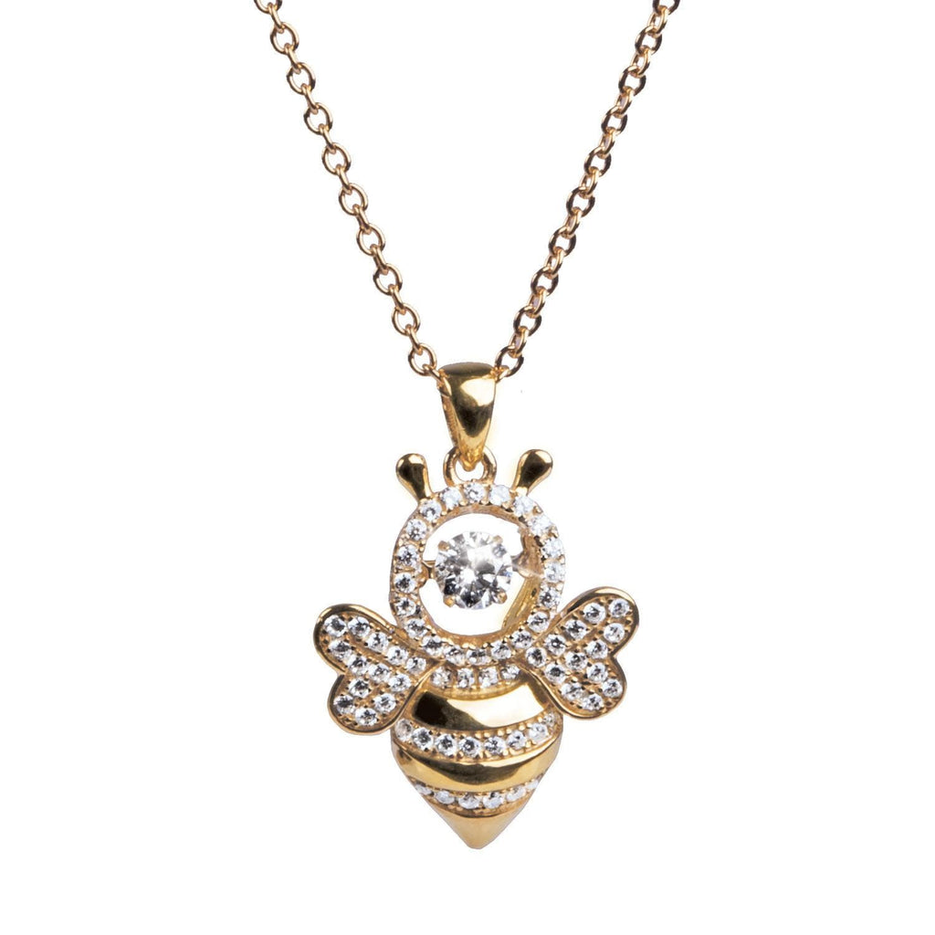 'Dancing' Bumble Bee Pendant - Timepieces International