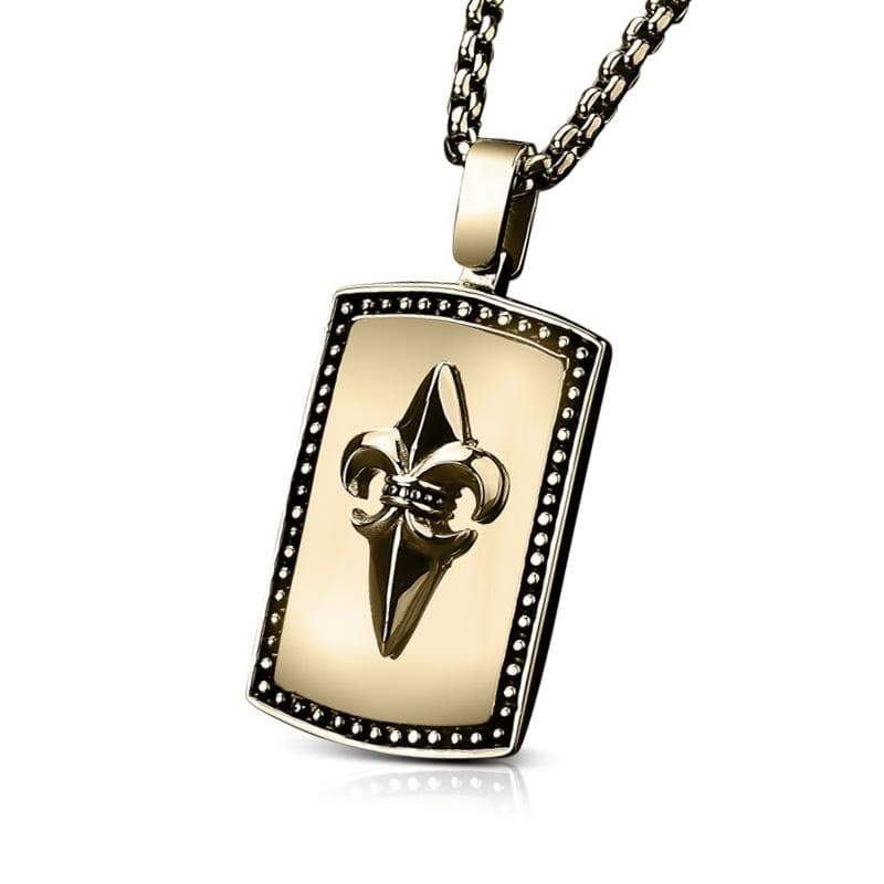 King Gold Pendant