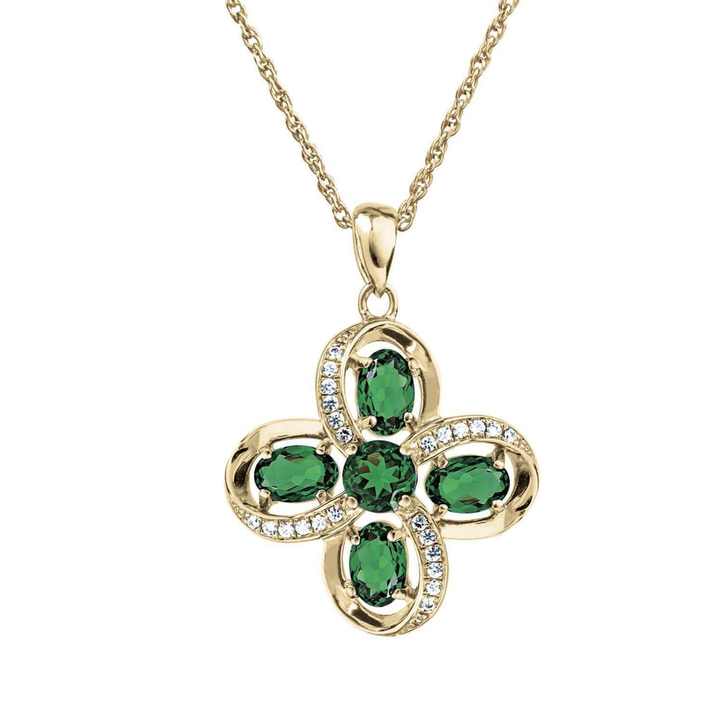 Virginia Green Pendant