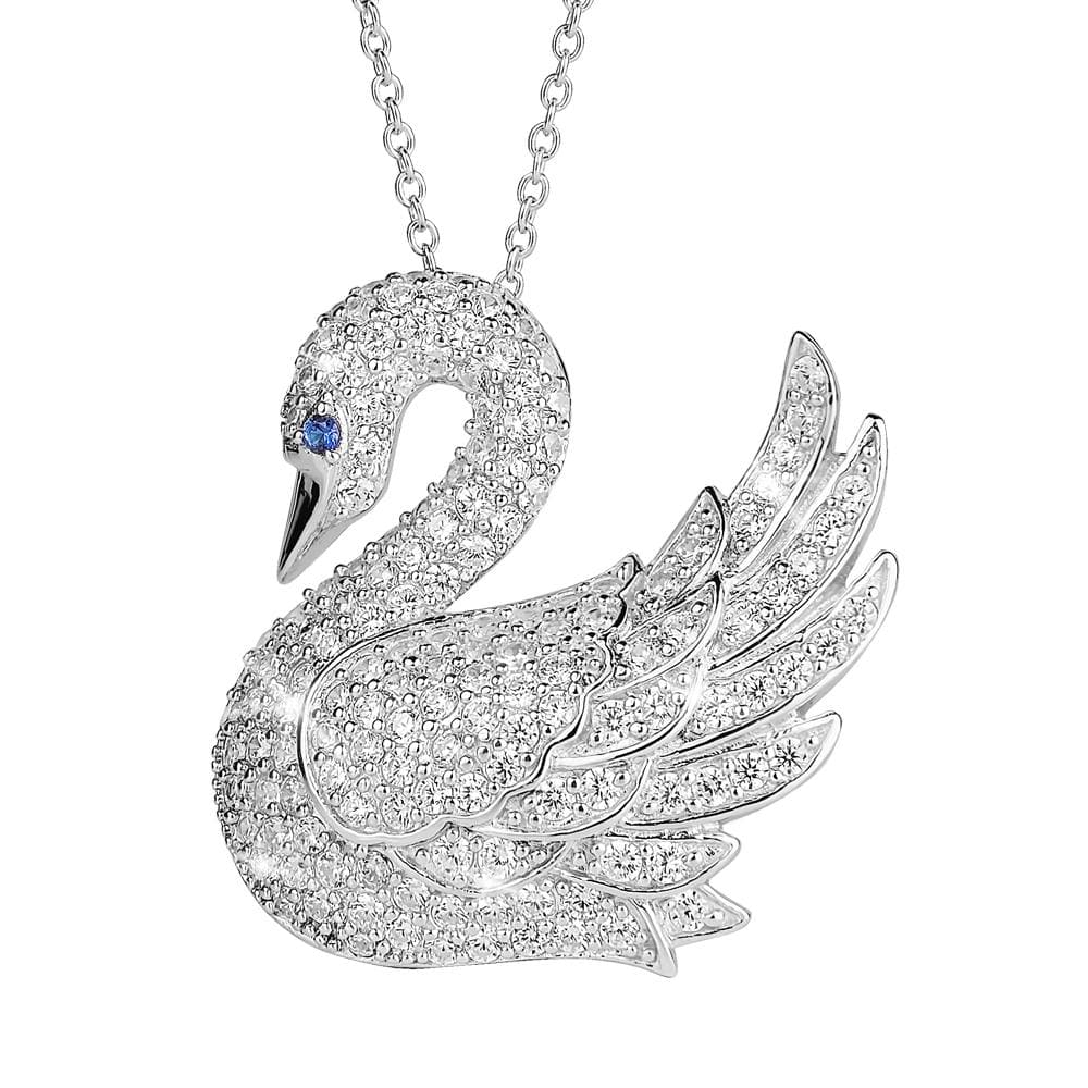 Ladies Swan Pendant