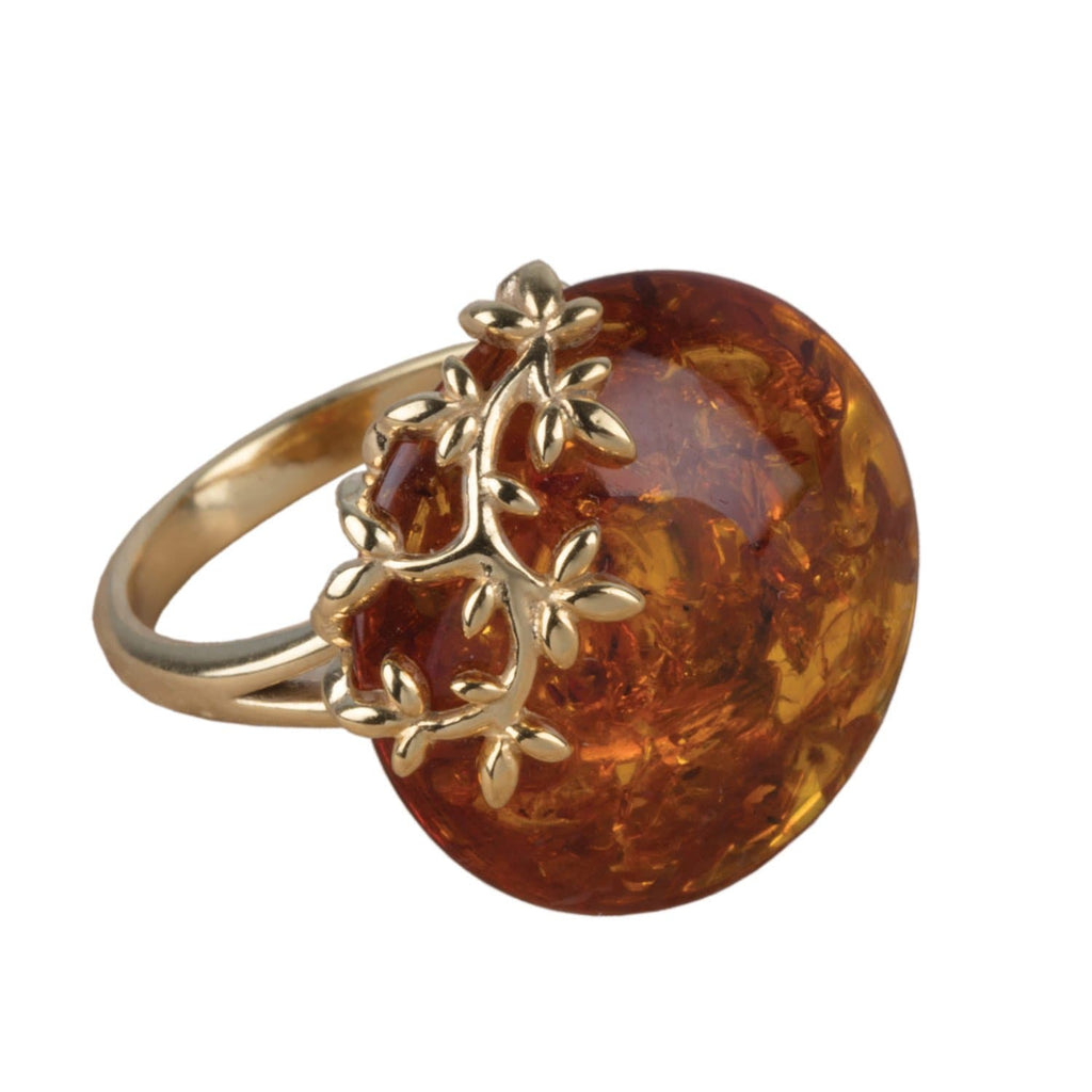 Daniel Steiger Fiore Baltic Amber Ring