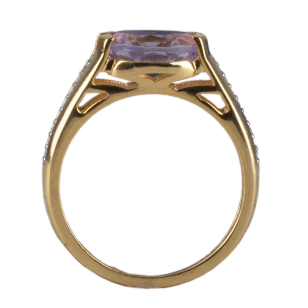 Cherished 10K Gold Amethyst Ring