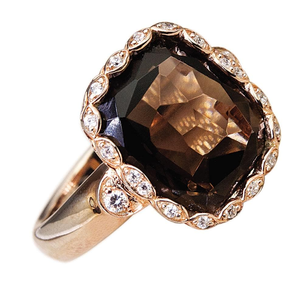 Athena Smokey Quartz Ring