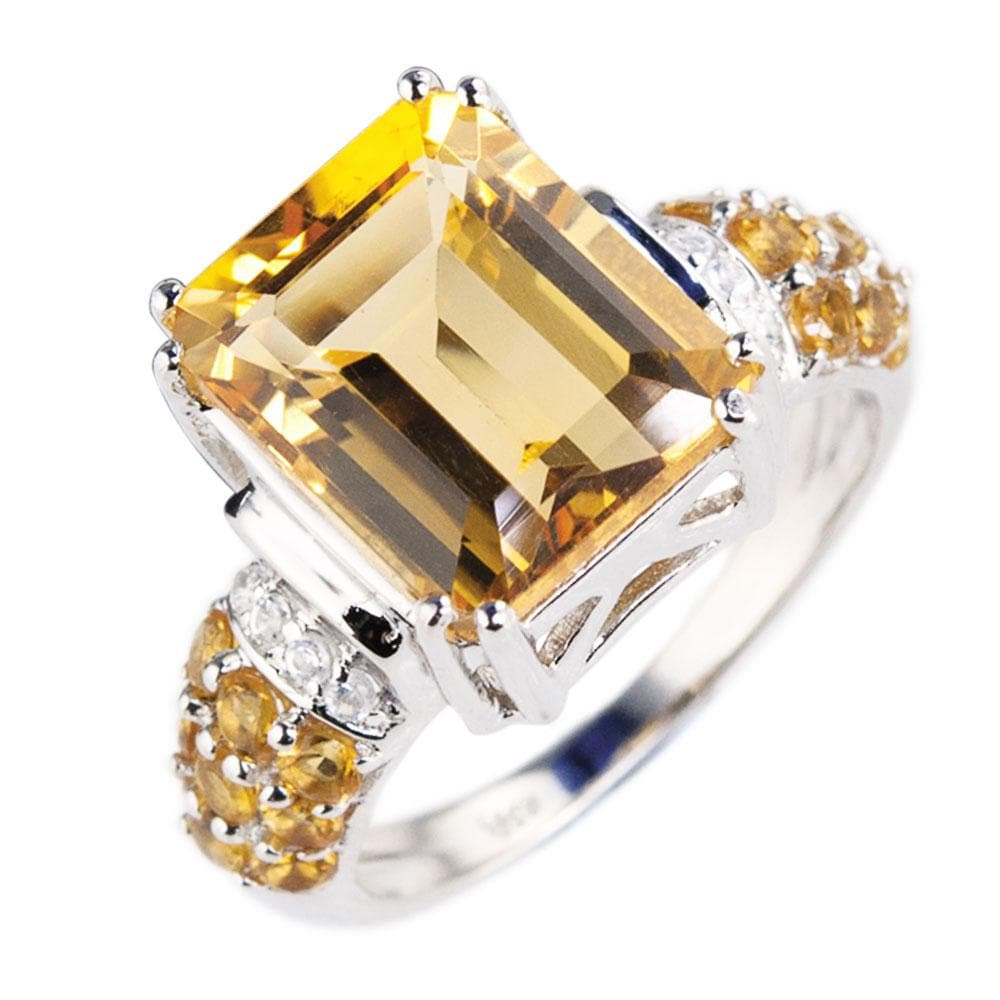 Tutti Fruity Citrine Ring
