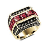 Insight Garnet Men's Ring