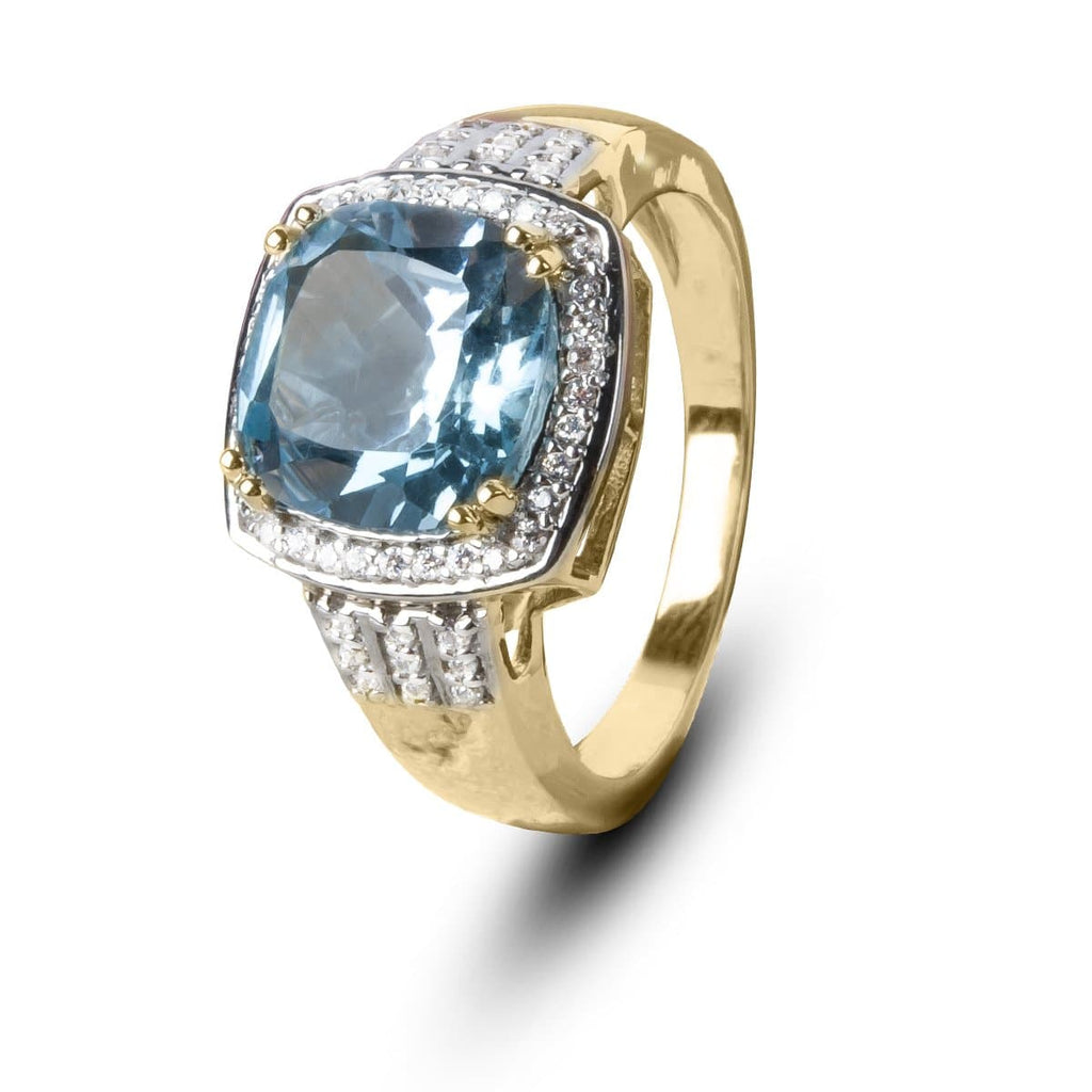 Grace Blue Topaz Ring