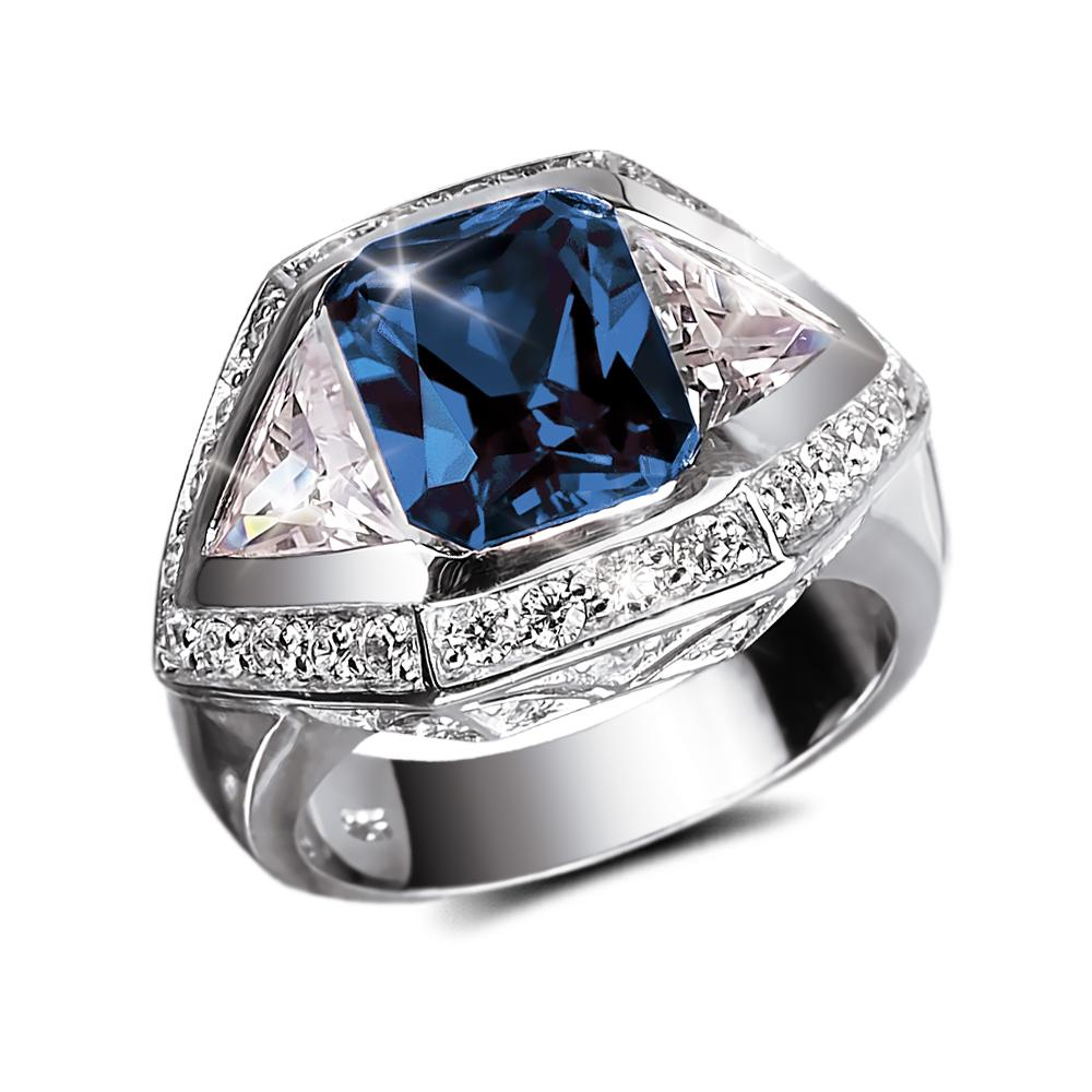 Baron Blue Men's Ring