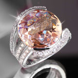 Champagne Blush Ring