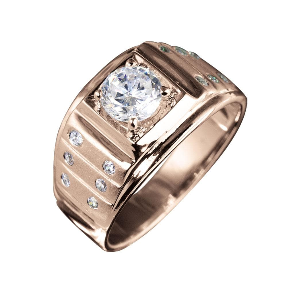 Chronos Men's Rose Gold Ring