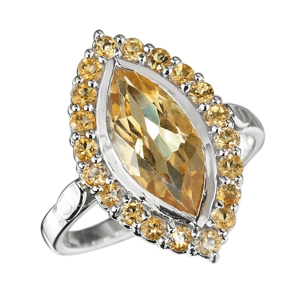 Citrine Solaris Ring