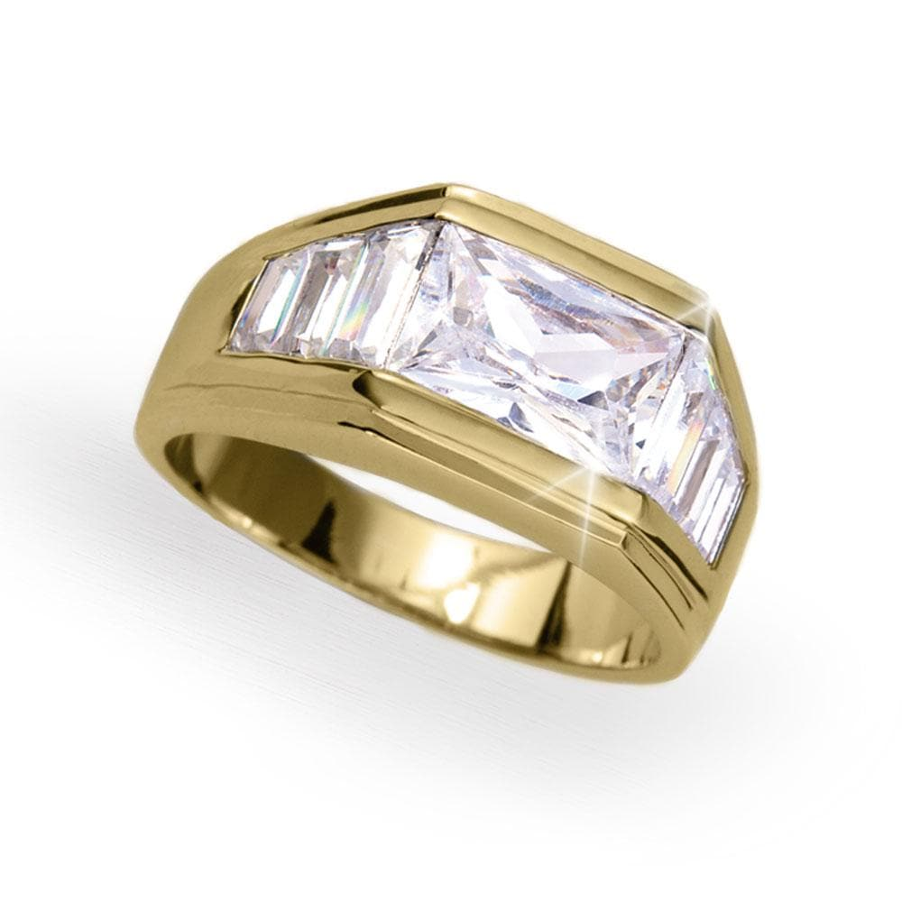 Delta Men's Gold Ring