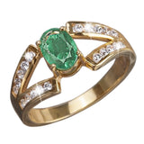 Emerald Orchard Ring