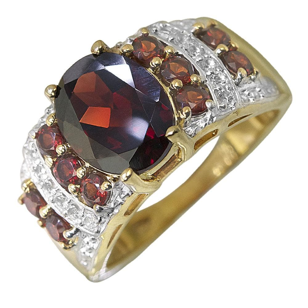 Marrakech Garnet Ring