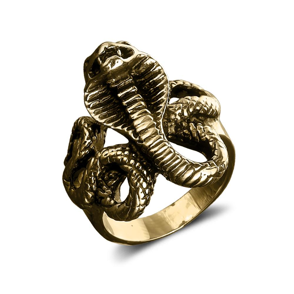 Venom Men's Gold Ring