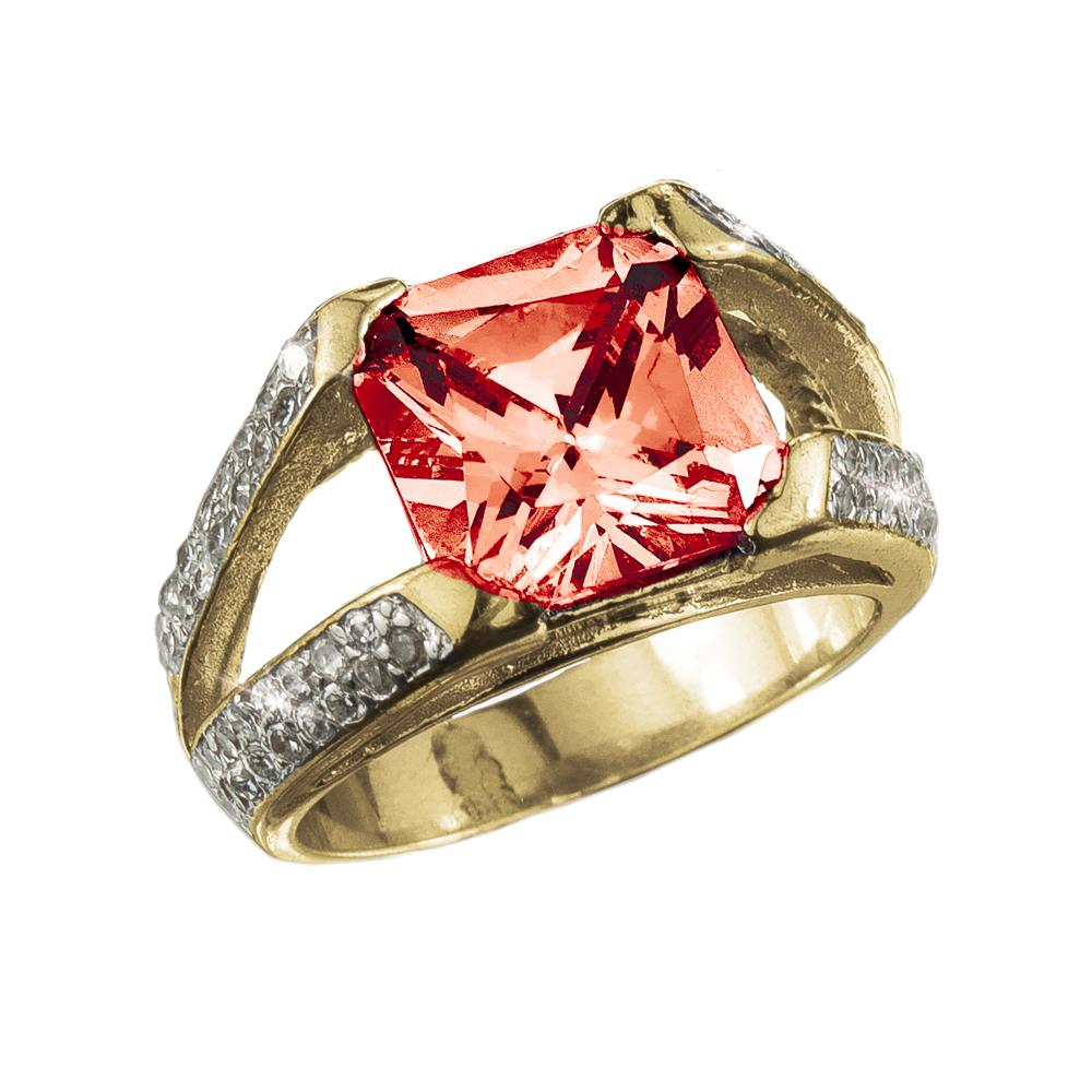 Radiant Ruby Ring