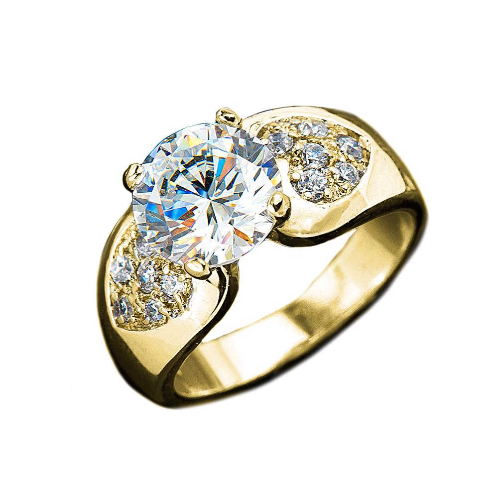Sweetheart Ring Gold