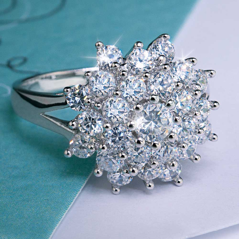Ice Cluster Ring