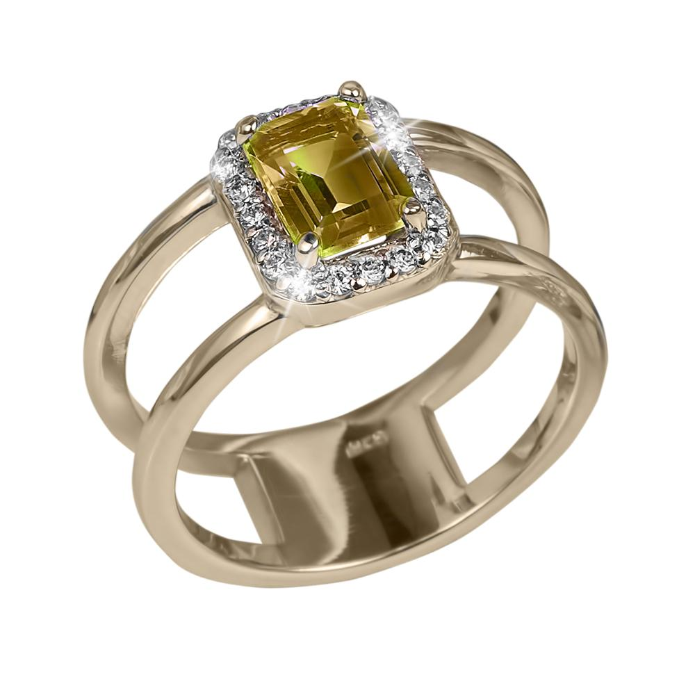 Destiny Citrine Ring