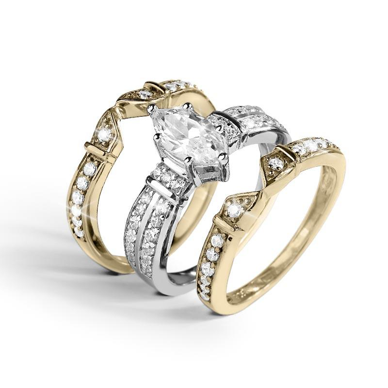 Antoinette Marquise Bridal Ring