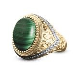 Portland Malachite Ring