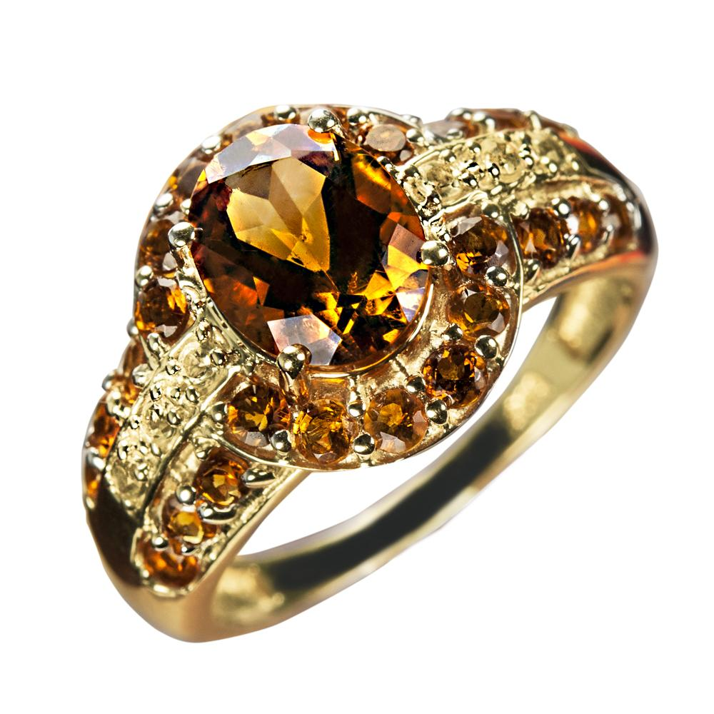 Golden Mandarin Ring