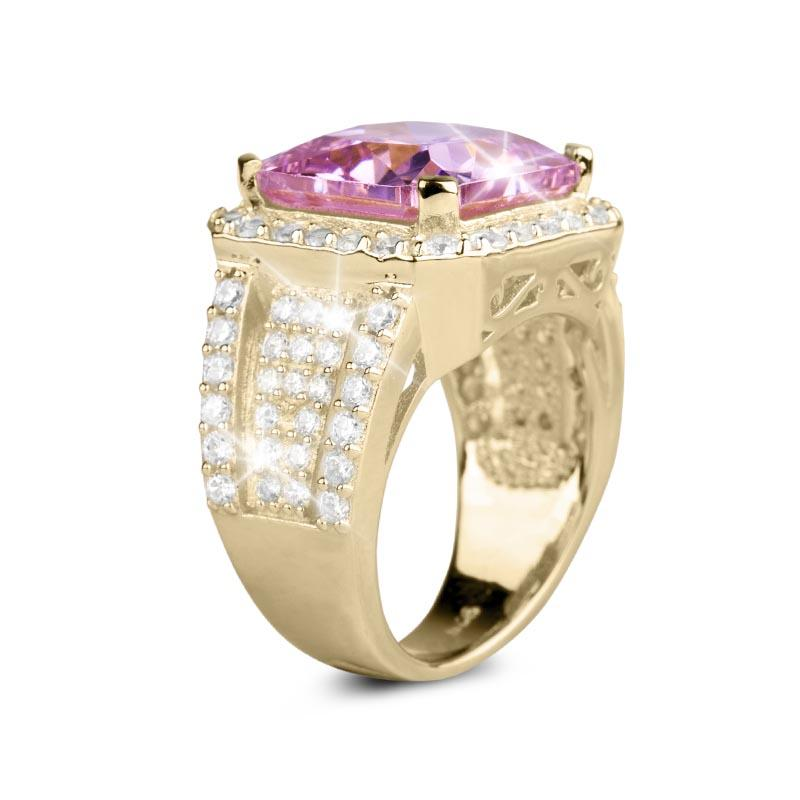 Sweet Freya Princess Cut Ring
