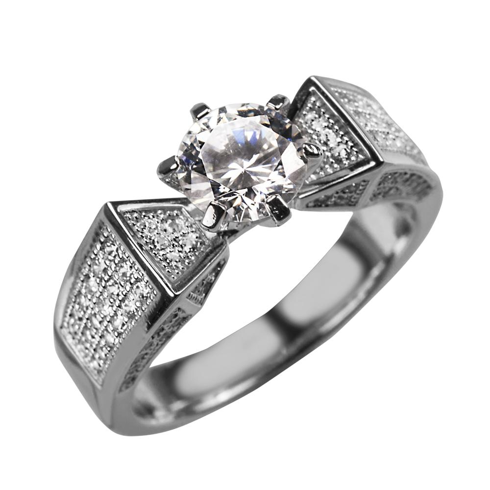 Star Solitaire Ring