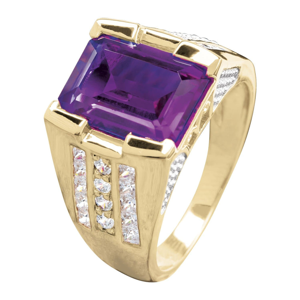 Supreme Purple Men's Ring