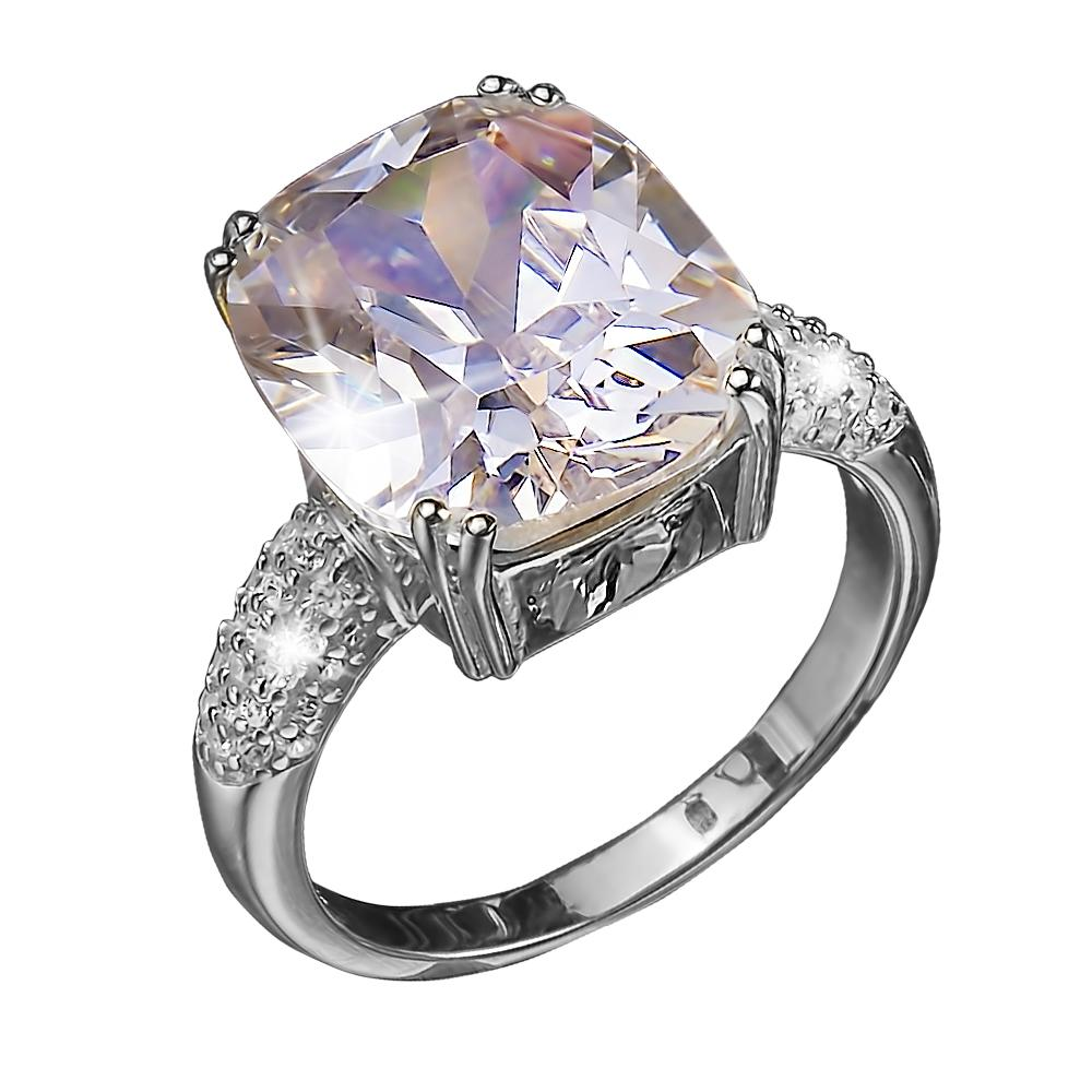 Dazzle Ring Rhodium