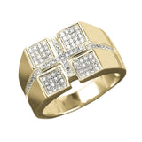 Pace Square Men's Ring