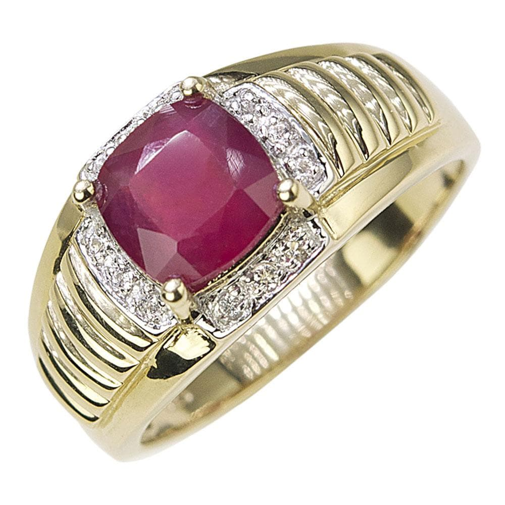 Liberty Men's Ruby Ring