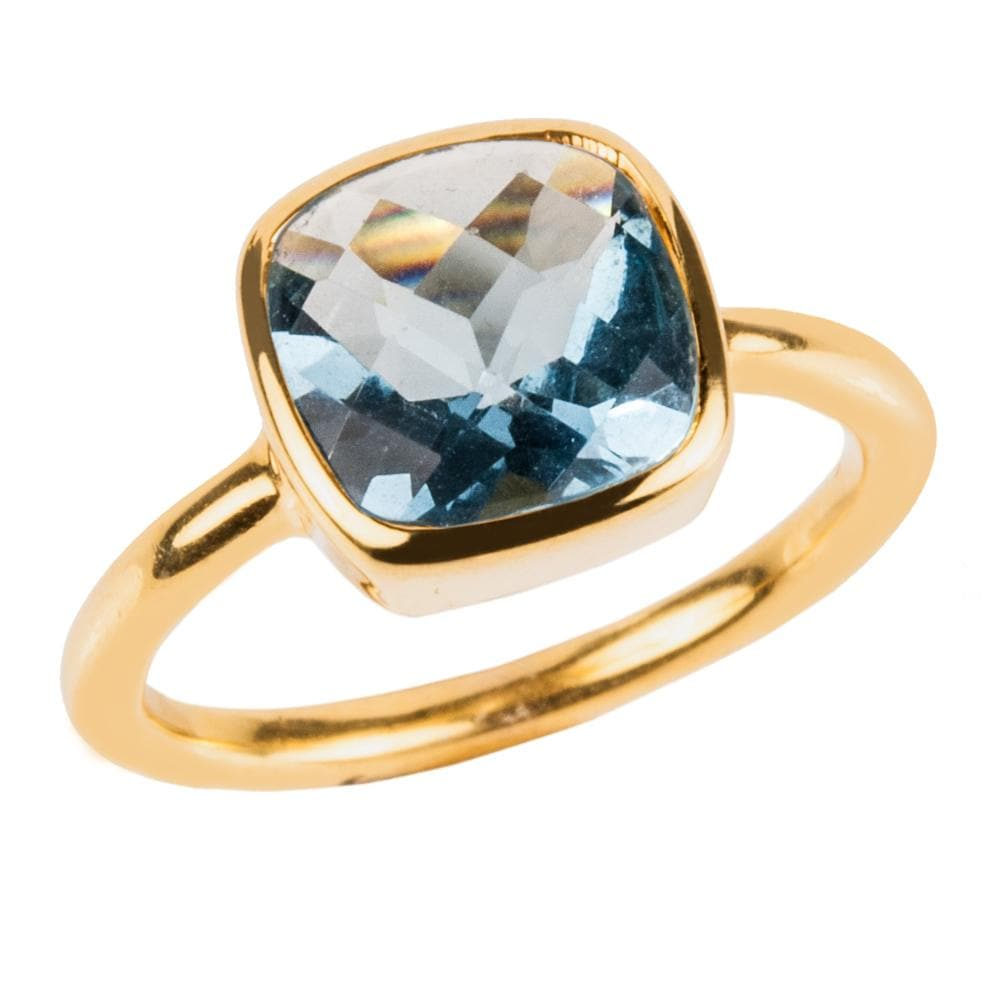 Dream Gems Ring Blue Topaz