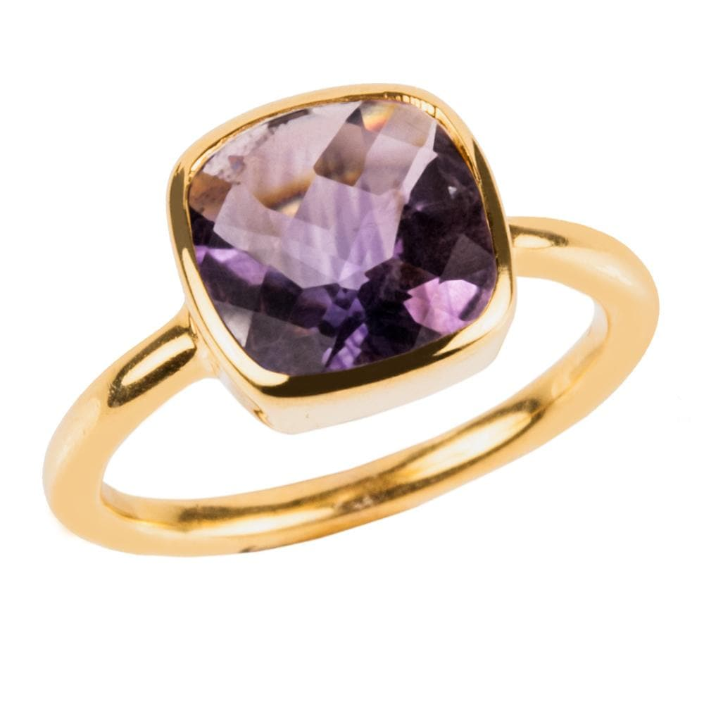 Dream Gems Ring Amethyst Purple