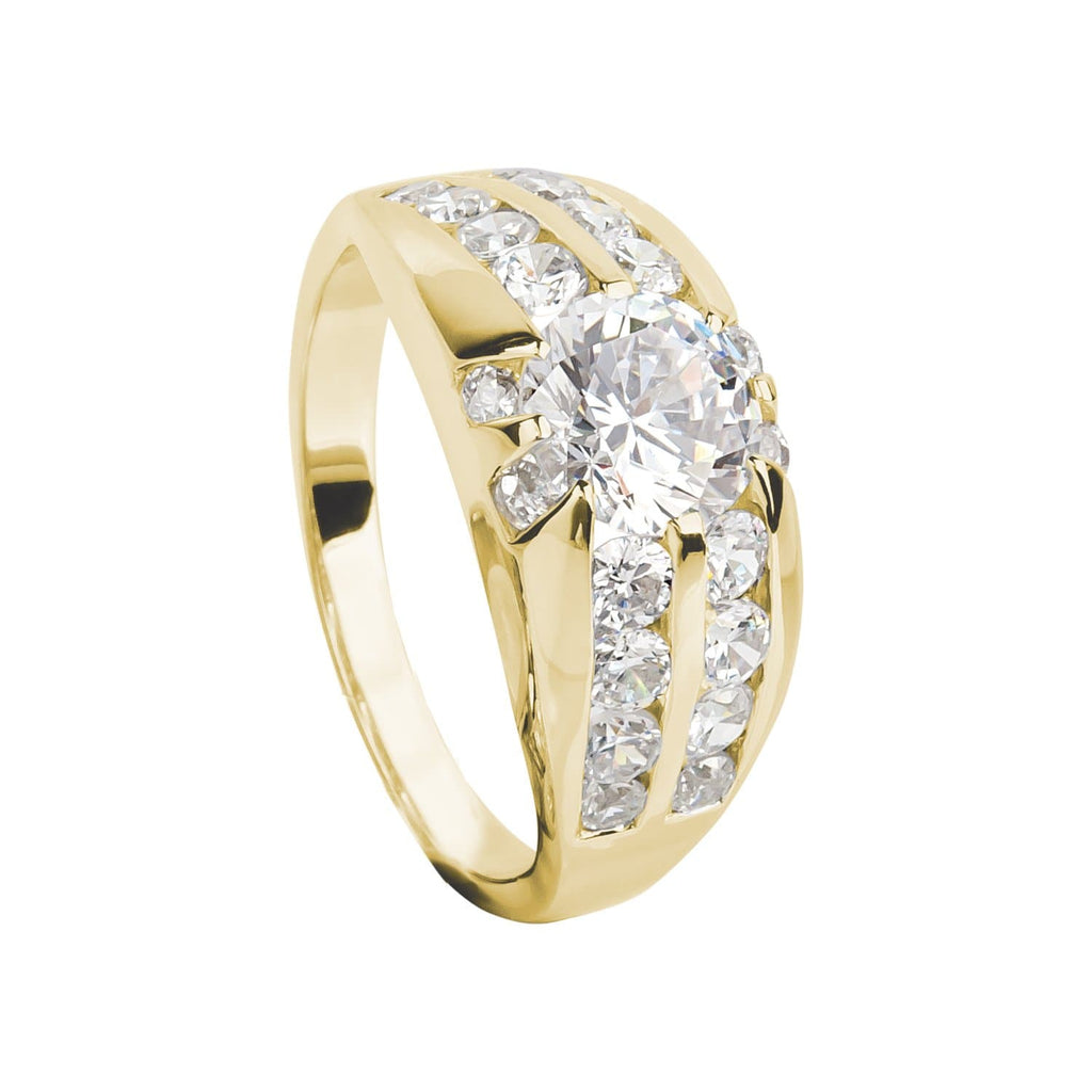 Valiance Men's Ring Gold