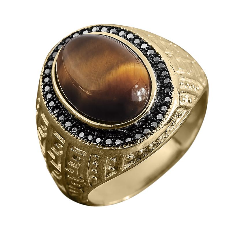 Courage Tigers Eye Ring