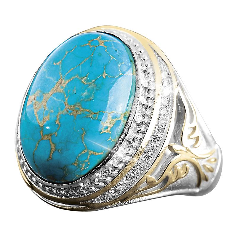 Warrior Turquoise Ring