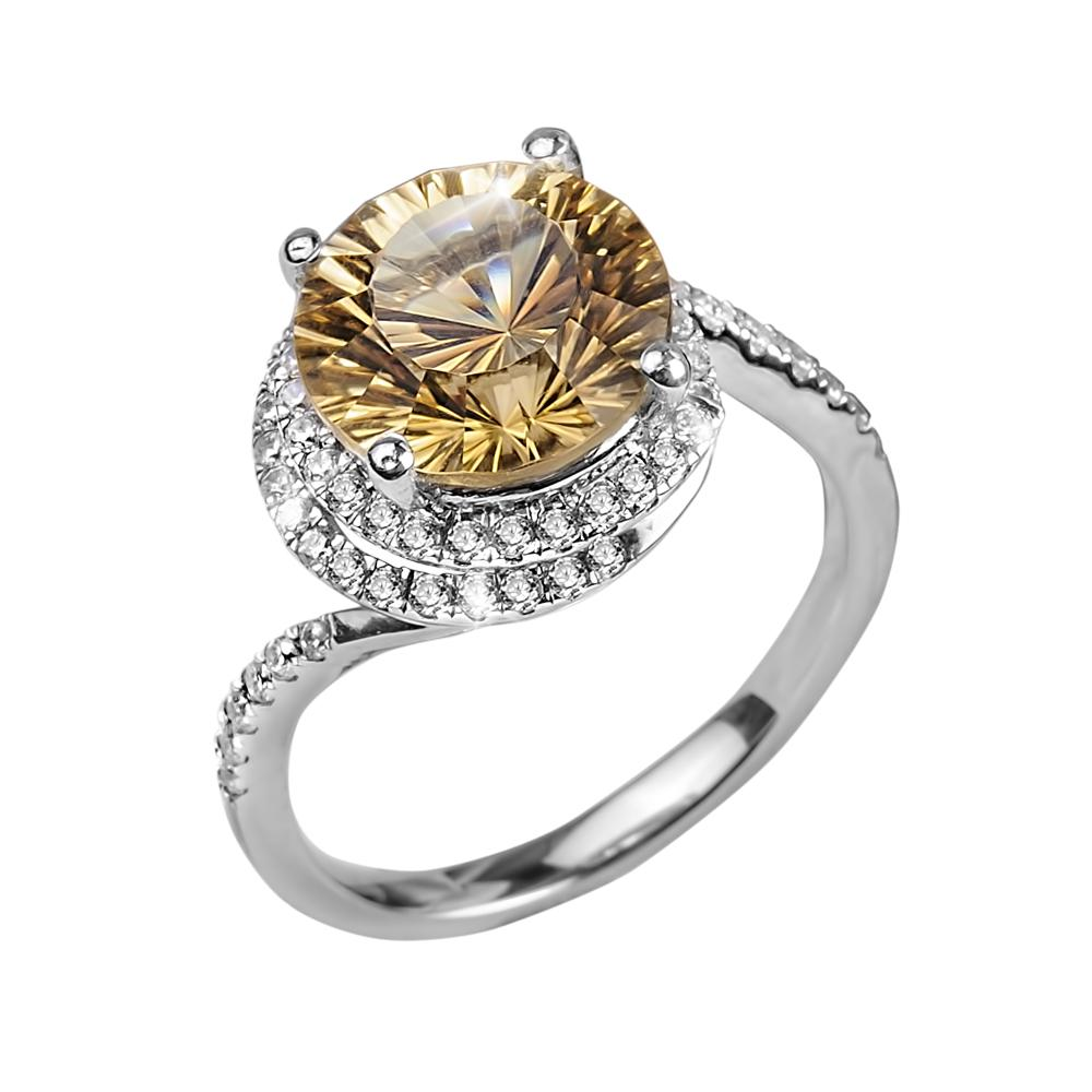 Citrine Firecracker Ring