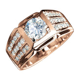Techmaster Rose Gold Ring