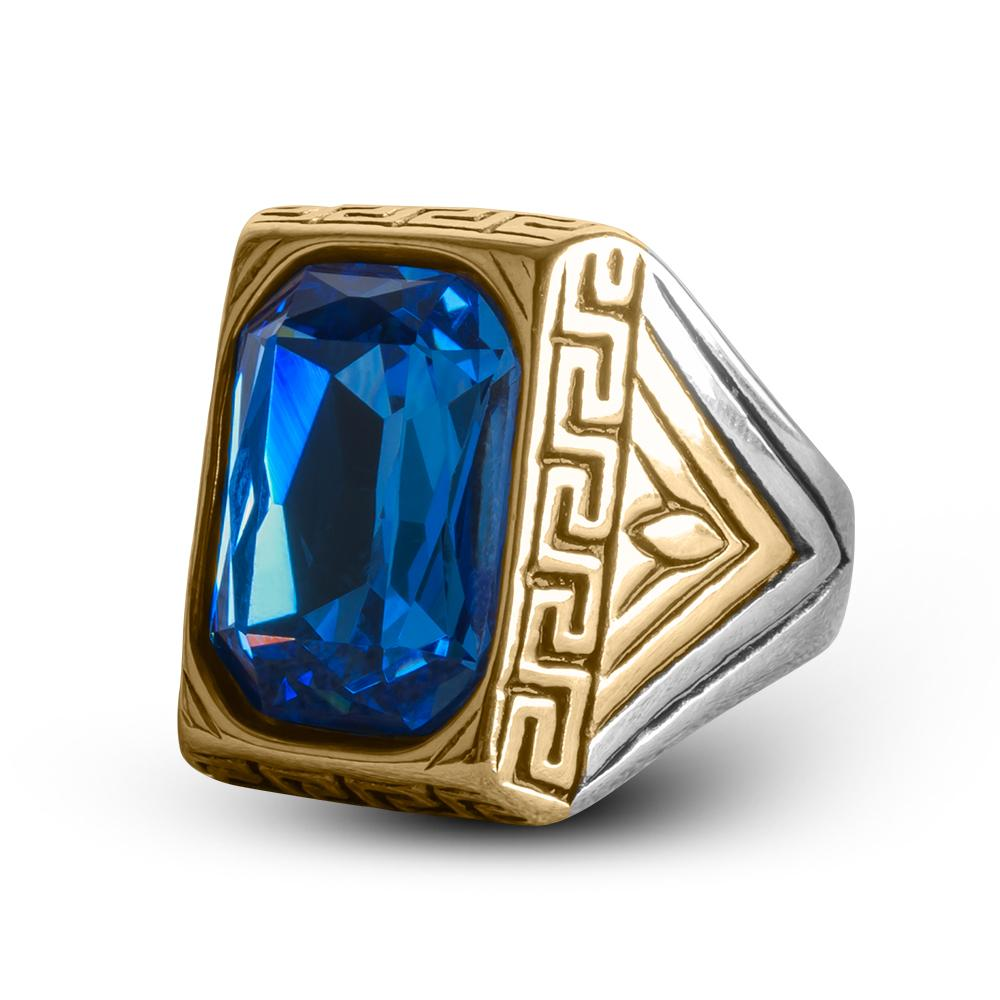 Defiance Blue Ring
