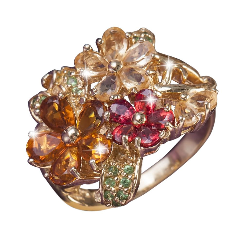 Golden Corsage Ring